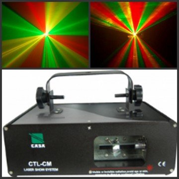 Professional 150mW RGY DJ Laser Dance Party Lights Stage Lighting