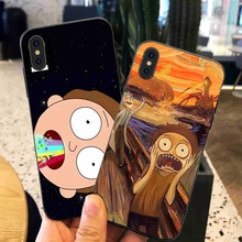 Rick And Motry  Phone Cases Cover for iphone X XR XS MAX 6 6s 7 8 Plus TPU Cover Coque For iphone 7 8Plus iphone 5SE Cases rick and motry phone cases cover for iphone x xr xs max 6 6s 7 8 plus tpu cover coque for iphone 7 8plus iphone 5se cases
