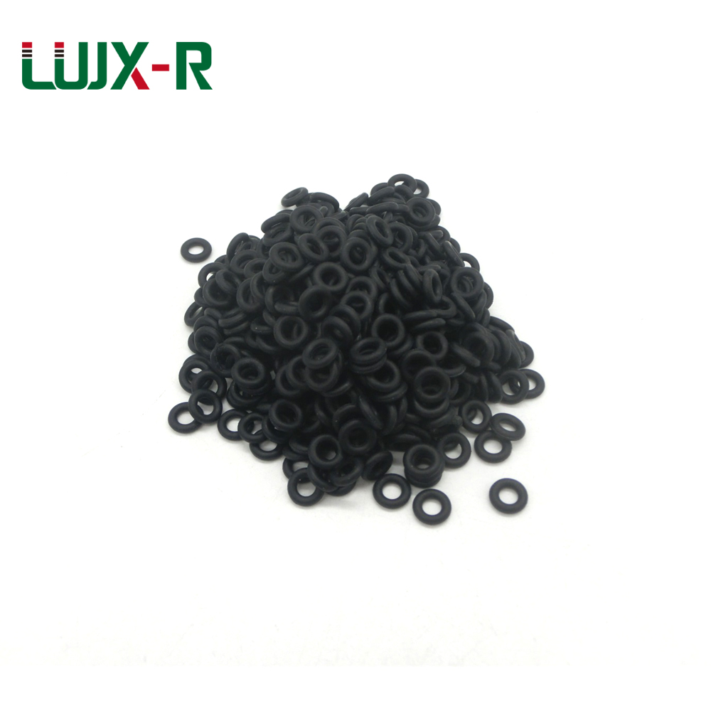 LUJX-R 1mm O Ring Rubber Rings Gaskets OD 3.2/4/5/6/7/8/9/11/12/13/14 Black NBR Liner O Type Ring Sealing Nitrile Washer naviforce new luxury men led quartz watch men s fashion military sport watches male date digital analog clock relogio masculino