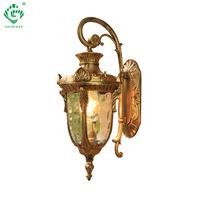 LED Outdoor Wall Light Waterproof Porch Outside Lamps E27 Bulb Exterior Garden Balcony Black Bronze Yard Home Sconce Lighting
