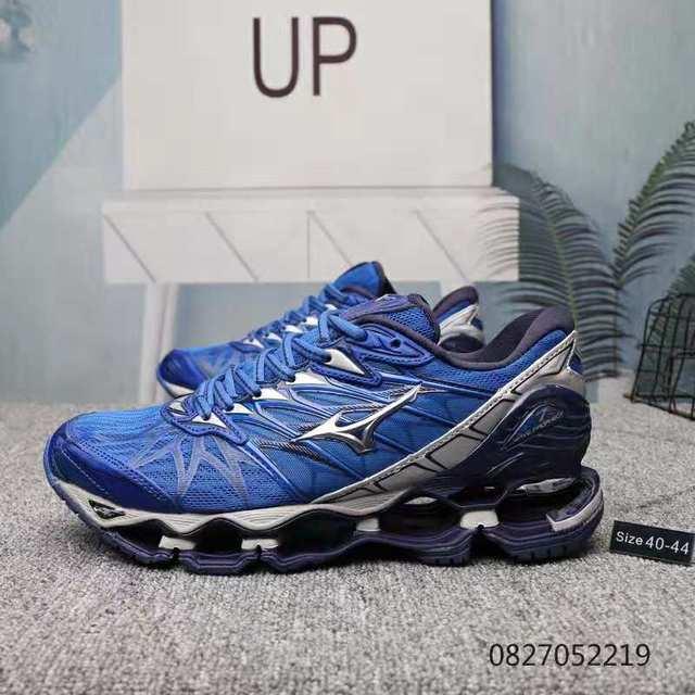 Sapatas Dos Homens Das Sapatilhas Mizuno originais Onda Profecia 7 Profissional Ao Ar Livre Esporte De Levantamento De Peso Sapatos Tenis Mizuno tamanho 40-45