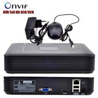 Mini NVR Full HD 4CH 8CH Security CCTV NVR 1080P ONVIF 2 0 For IP Camera