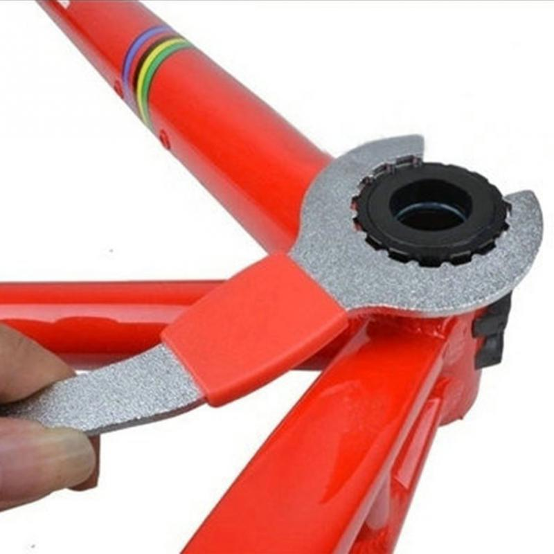 2018 New High Quality Bike Chain Convenient Remover Tool Whip Bottom Bracket Repair Freewheel Wrench цена 2017