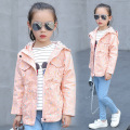 Children's clothing The new children in the spring and autumn windbreaker girls zipper tops