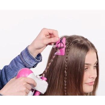 Trenzado automático eléctrico para el cabello DIY estiloso trenzado herramienta para el cabello trenzadora de pelo trenzada