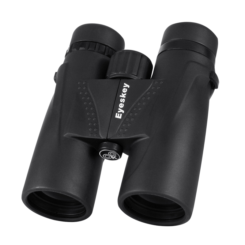 Eyeskey Hunting Binoculars 10x42 Binoculars Waterproof Telescope Bak4 Prism Camping Hunting Scopes with Neck Strap Non-slip bijia 20x nitrogen waterproof binoculars 20x50 portable alloy body telescope with top prism for traveling hunting camping