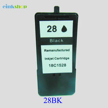 1PC Einkshop For Lexmark 28 Ink Cartridge Lexmark28 for lexmark X2500 X2530 Z1300 X2510 X5075 Z1310 X5490 X5495 Z845 Z1320