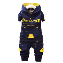 Children Clothing Sets Hooded Coat And Pants 2pcs Suits Fashion Letter Baby Boy Girl Autumn Suit Toddler Cotton Sport Tracksuit 2018 coat fashion full top fashion real boy girl jacket baby spring and autumn plus pants children windbreaker children s suit