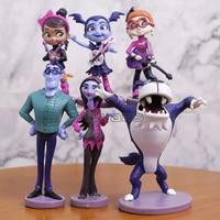 Junior Vampirina Куклы Фигурки вамп девушка фигурки из ПВХ аниме игрушки для детей день рождения партия 6 шт./компл.