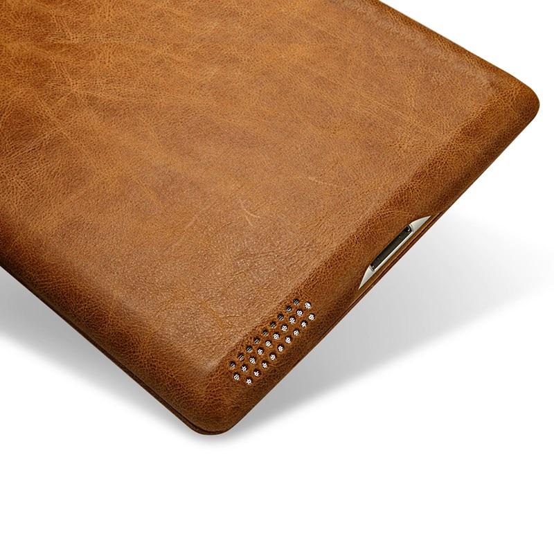 Funda para iPad 2018 de Jisoncase Funda Cuero genuino para iPad 2/3/4 - Accesorios para tablets - foto 4