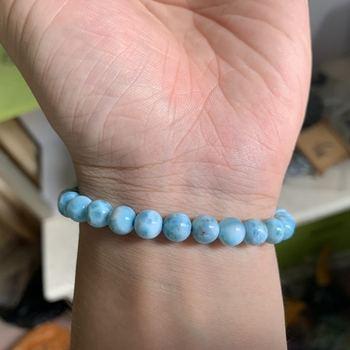 Bracelet Boule Larimar