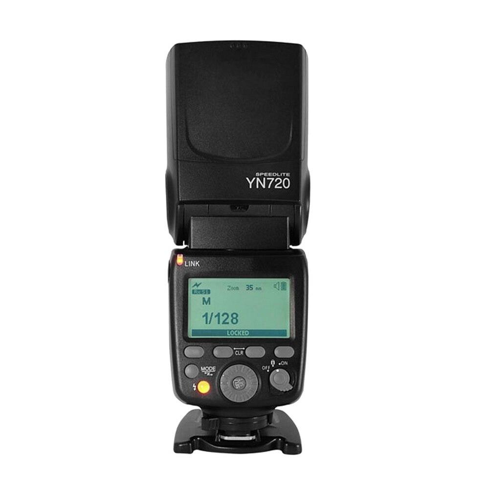 2018 YONGNUO YN720 Lithium Speedlight Speedlite Flash with Li ion Battery for Canon Nikon Pentax SLR