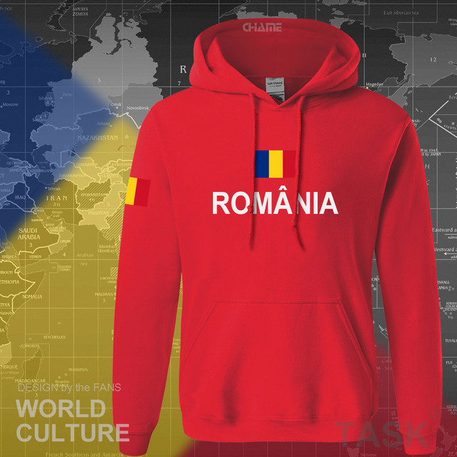 Romania Romanian ROU hoodies men sweatshirt sweat new hip hop streetwear tracksuit nation footballer sporting 2017 country