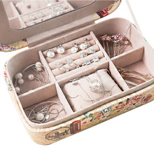 Packaging Box For Jewelry Makeup Case Organizer