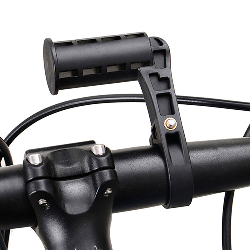 Universal Bicycle LED Torch Flashlight Mount Bike Computers Stand Support Cellphone Holder& Bike Handlebar Mounted Extender