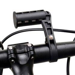 Uniwersalny rowerowy latarka LED latarka góra rower komputery stojak wsparcie uchwyt na telefon komórkowy i kierownica rowerowa zamontowany Extender