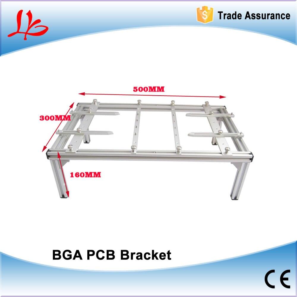 BGA bracket ,PCB Holder 500mmx300mmx160mm PCB holder for BGA rework machine to fix board universal pcb clamp bracket 500mmx300mmx160mm bga jig support pcb board for bga rework repair