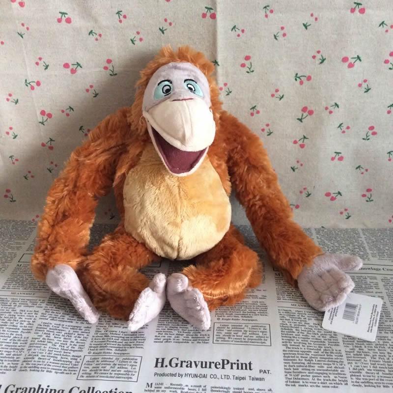 Free shipping 1pcs 32cm=12.6inch Original The Jungle Book Leo De Lyon Stuffed Animal Plush Toy LeoDeLyon Toy for kids gift