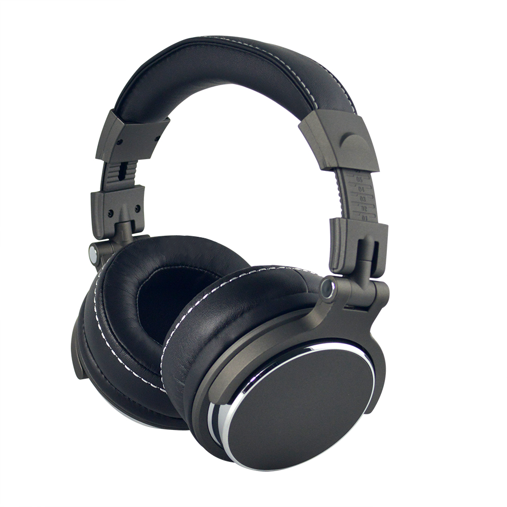 SikkiS Professional DJ Headphones Monitoring Headphones Foldable Noise Isolating Stereo Bass Sound High Quality V12