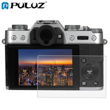 PULUZ for Fujifilm X-T10/T20 Camera 2.5D Curved Edge 9H Surface Hardness Tempered Glass Screen Protector patriot pa 445 t10 x treme