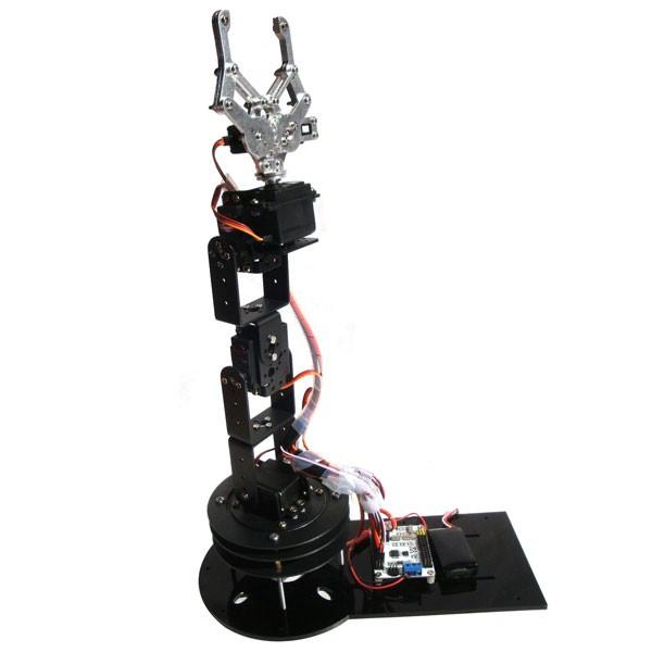 6 DOF Alloy Robot Arm
