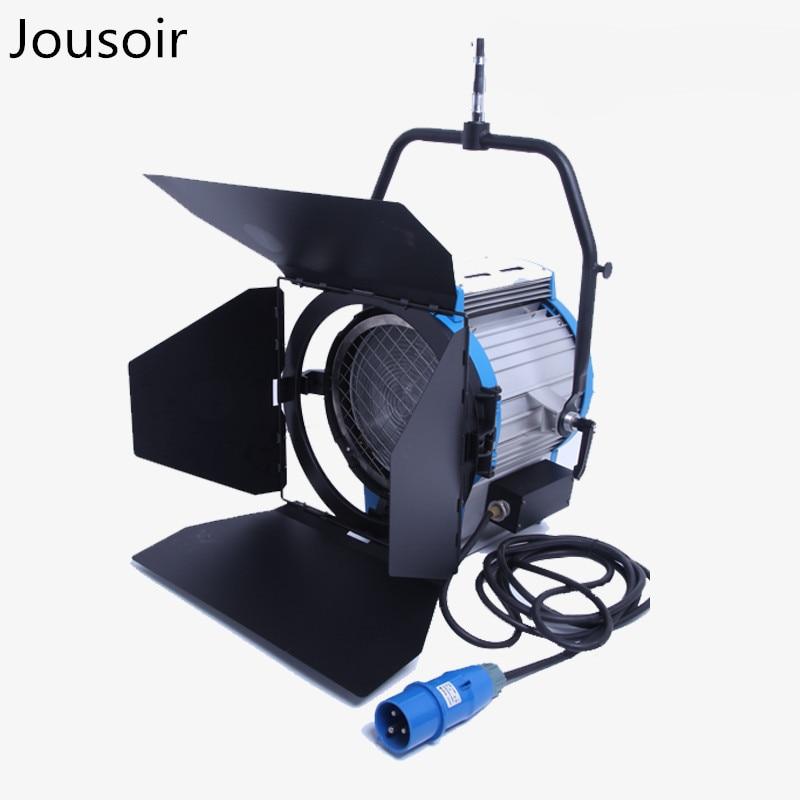 High Power 5000W Studio Fresnel Tungsten Light Spotlight Focusable + Globe CD50