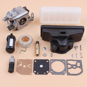 Image 3 - Carburetor Air Filter Oil Pump Worm Gear Diaphragm Kit Kit For Stihl MS210 MS230 MS250 021 023 025 Chainsaw Zama C1Q S11E Carb