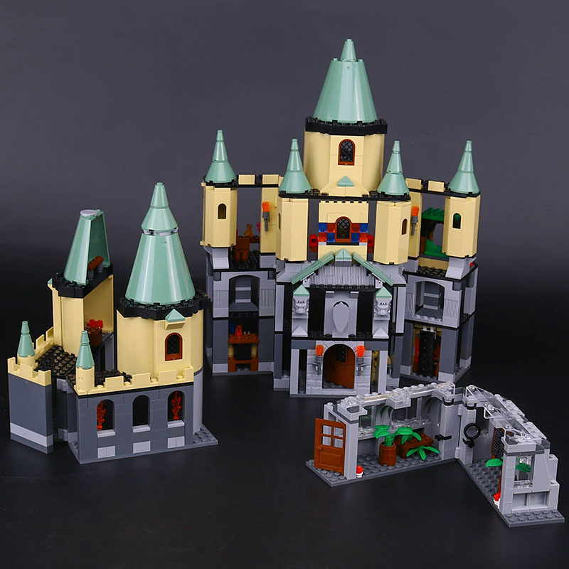 Lepin 16029 Genuine Movie Series Magic hogwort castle set LegoINGys 5378 Educational Building Blocks Bricks Toys Model Gifts lepin 16017 castle series genuine the king s castle siege set children building blocks bricks educational toys model gifts