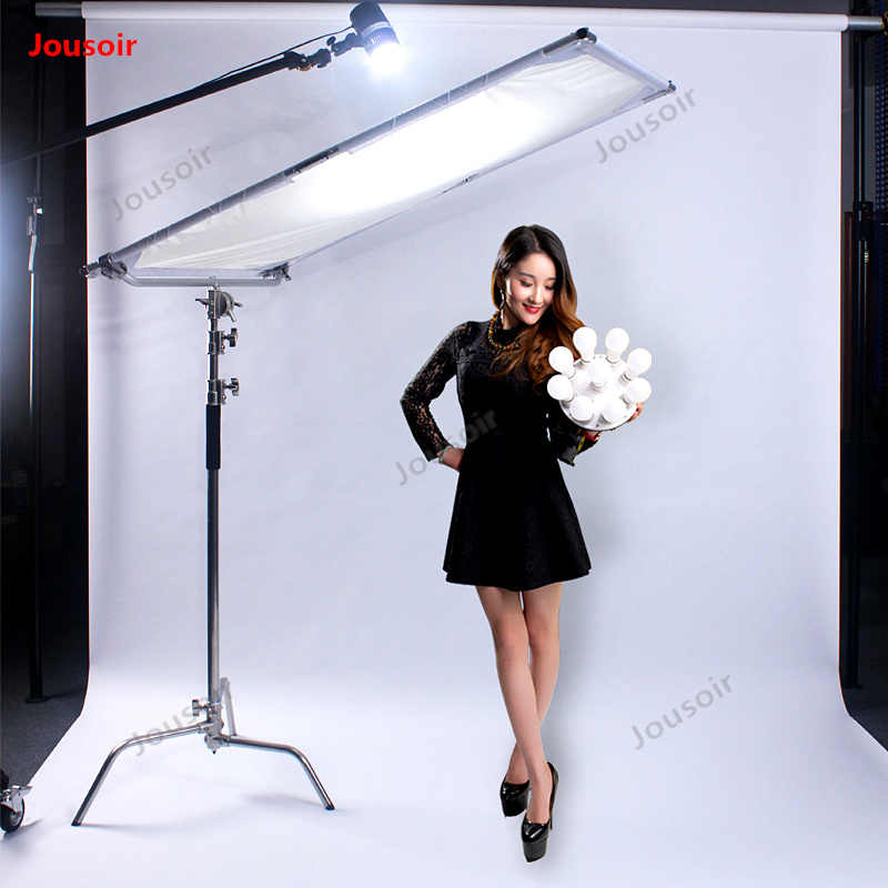 Photography butterfly frame Flexible light plate folding soft screen 1.4m*2m reflective screen two-color reflector CD50 T03