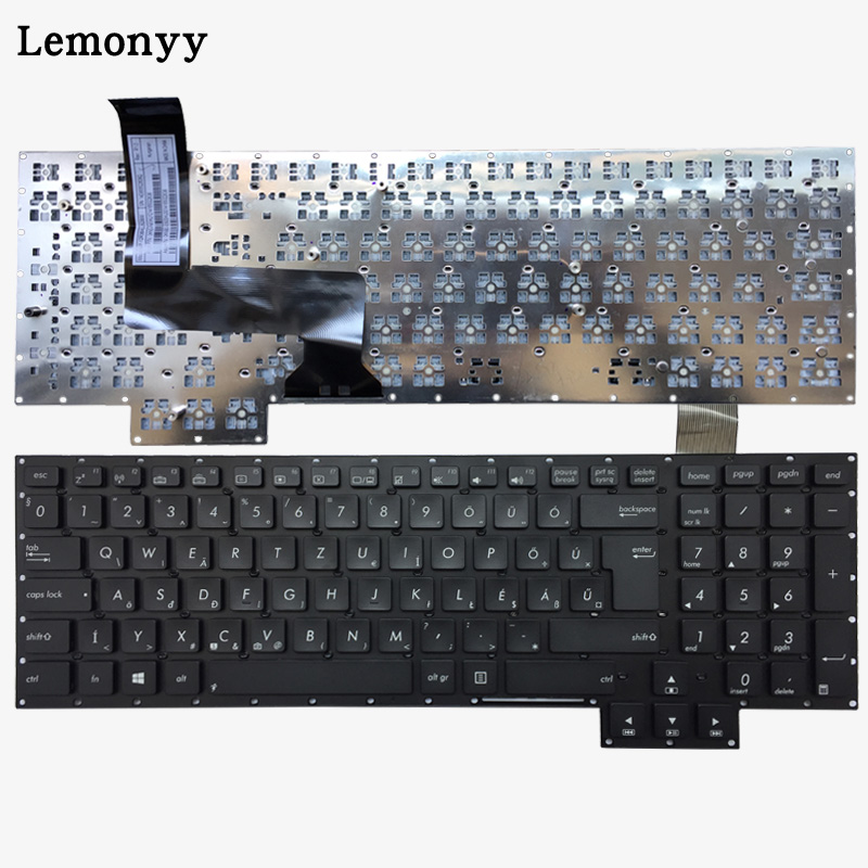 NEW Hungary laptop keyboard For Asus G750 G750JH G750JM G750JS G750JW G750JX G750JZ HU black keyboard все цены