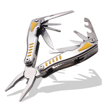 Stainless long nose can bottle opener saw  Multi Pliers Outdoor Portable Folding Knife Pliers Multifunctional Tool Pliers