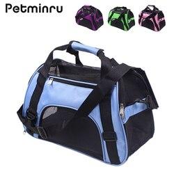 Petminru портативный рюкзак для домашних животных, сумка-мессенджер, переноска для кошек и собак, переноска для путешествий, плюшевые пакеты, ды...