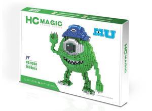 Image 2 - HC blocs magiques avec boîte dorigine grande taille blocs de construction Anime modèle briques dessin animé point figurines daction jouets enfants cadeaux