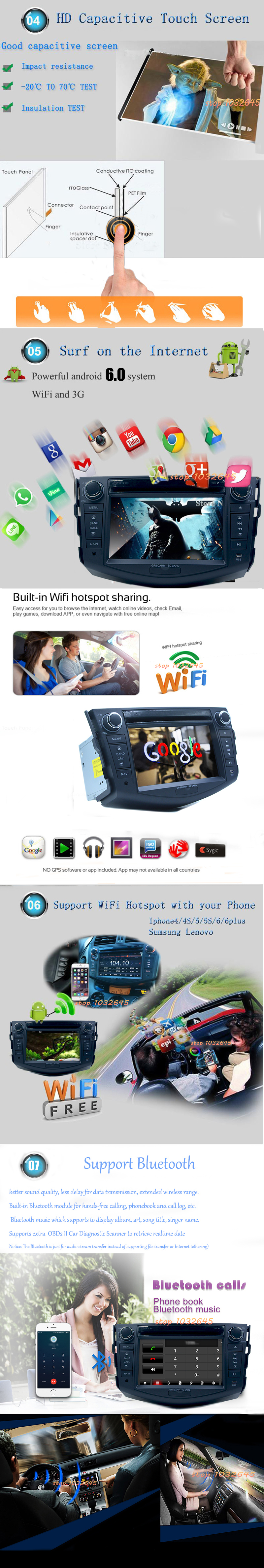 Top Free camera Android 7.1 Core 1GB RAM Car DVD Player For Toyota RAV4 RAV 4 2006 2007 2008 2009 2010 2012 GPS BT Radio 6
