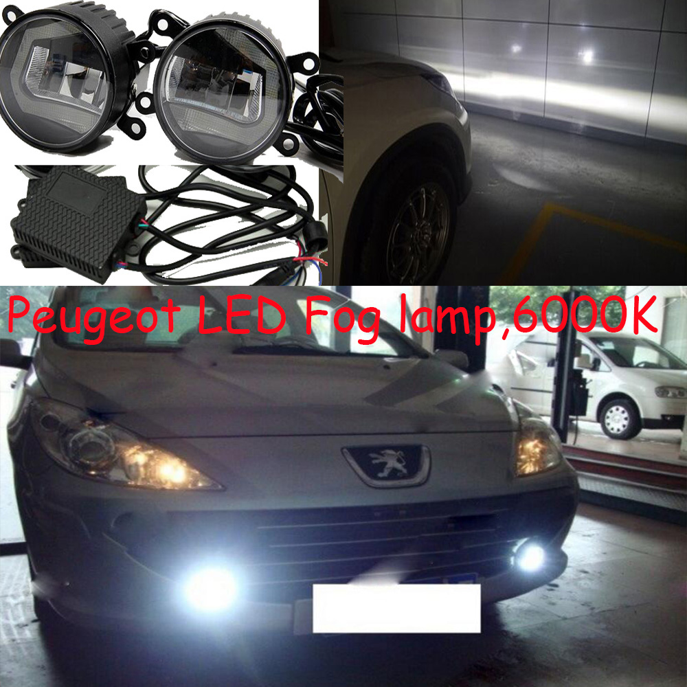 LED,Peugeo 307 daytime light,207 fog light,206 day lamp,207 207CC 307 CC 307SW 3008 407 coupe,4007 5008 <font><b>607</b></font> image