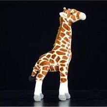 BOLAFYNIA New kind giraffe deer Baby Kid Plush Toy for Christmas Birthday Gift Children Plush Stuffed Toys 35cm height