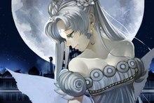the moon anime girl Sailor Moon cartoon art  EY42 room home wall modern art decor wood frame poster