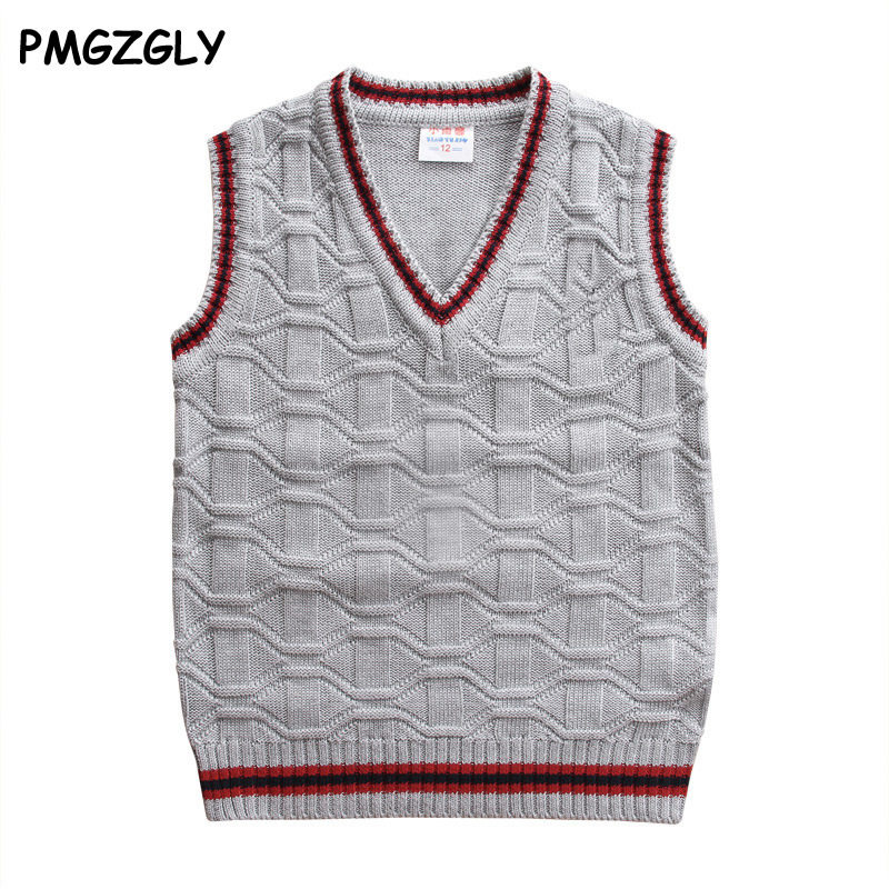 c30a0bcb43d4 Online Shop 2018 autumn children s clothes boys vests casual splice ...