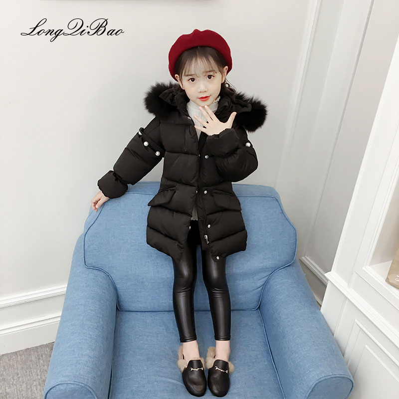 Girls new winter Korean version of the thickening of foreign cotton cotton clothing in the big children's fashion cotton primary the fall of 2015 to launch new products design high quality loose big yards the cowboy cotton women s nine minutes of pants