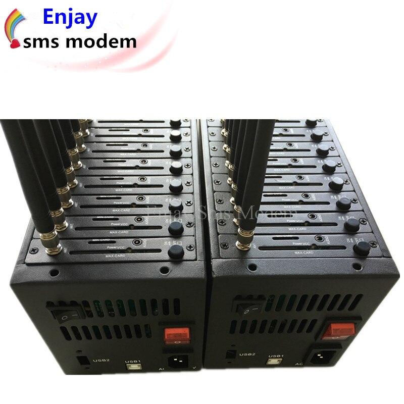 Дешевый gsm 32 Порты модемный пул USB quad band 850/900/1800/1900 МГц с заменяемым индивидуальным номером IMEI