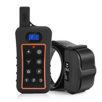 Electronic Dog Training Collar Rechargeable and waterproof 1200meters remote control Shock dog training Collar for 3 Dogs