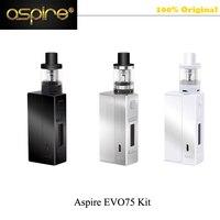 Aspire Originale Cigarro elektronik sigara Aspire EVO 75 Kit con Atlantis EVO 2 ml 75 W Box EVO75 Mod Vape Starter Kit VS Smok