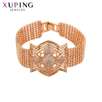 Xuping Fashion Jewelry Bracelets Charm Style New Design Bracelets for Women Elegant Christmas Gifts S129 70009