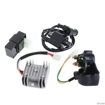 Regulador rectificador de relé, bobina de encendido CDI para ATV chino Quad 150 200 250 cc