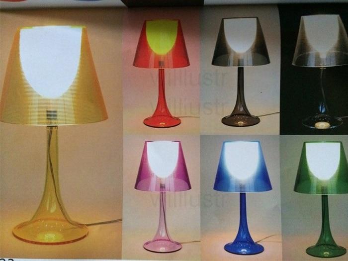 Cheap transparent table lamp