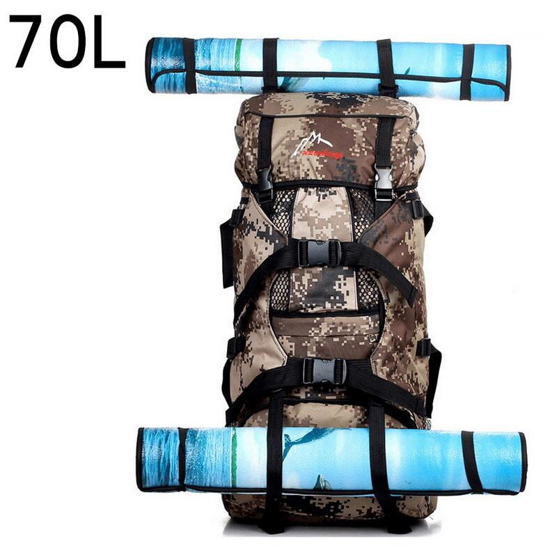 70L Outdoor sport military tactical rucksacks hunting backpack large capacity mountaineering hiking bag camping travel backpack