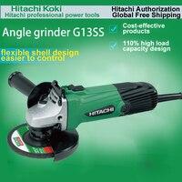 Japan HITACHI G13SS Angle Grinder 125MM Angle Grinder Metal Grinding and Cutting Machine  Input Power: 580W 10000/Min|hitachi g13ss|hitachi angle grinder|grinder hitachi -