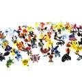 24 Шт. 144 Стиль Японской Анимации Игрушки Pocket Monster Пикачу Pokeball Цифры 2-3 см Другой Стиль Мини-Мультфильм рис.