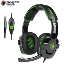 SADES SA930 3.5mm Gaming Headphones Computer Headset with Mic Noise Cancelling for Mac Xbox One Cell Phone PS4 Tablet Green