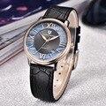 Pagani design señoras reloj de cuarzo de moda las mujeres de cuero casual vestido reloj de oro rosa de cristal de las mujeres reloje mujer montre femme